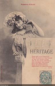 Poisson d'Avril #11-post 1904 (w)