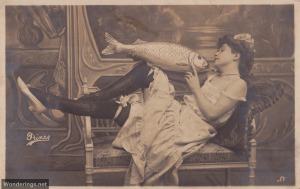 Poisson d'Avril #2-used 1906 (w)