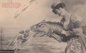 Poisson d'Avril #3-used 1905 (w)