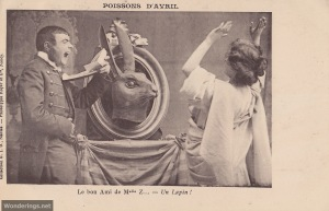 Poisson d'Avril #6-pre 1904 (w)