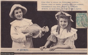 Poisson d'Avril #7-used 1906 (w)