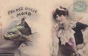 Poisson d'Avril #9-post 1904 (w)