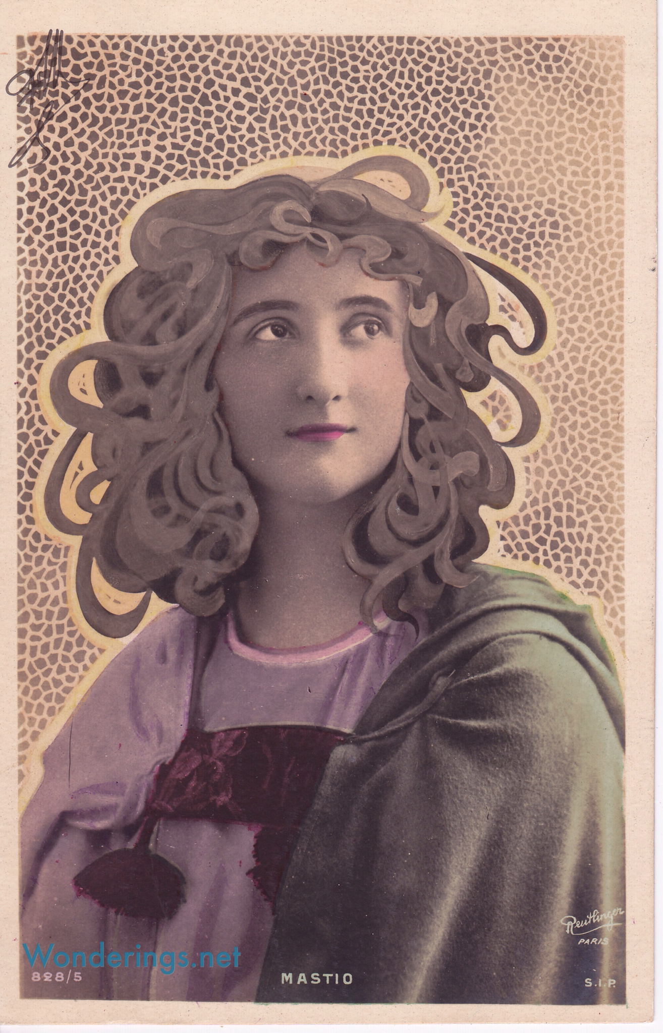 Art Nouveau Hair Wonderings