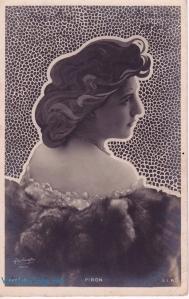 Piron art nouveau hair