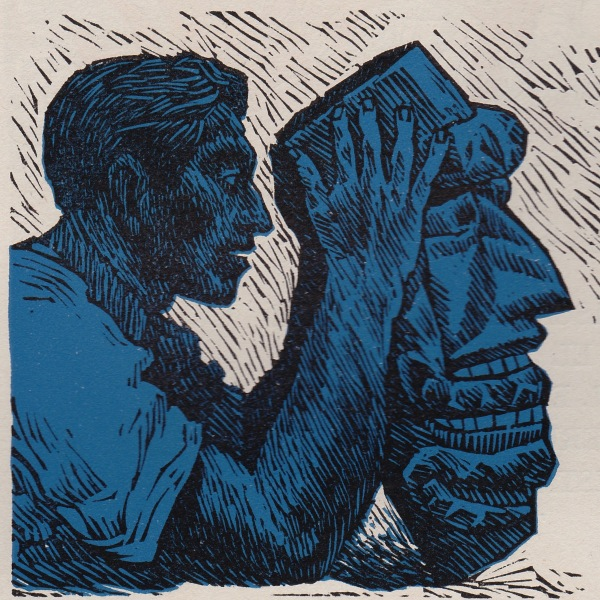 Thoughtland (Zalce The Mask of the Sombrerón, illustration for El Sombrerón, 1946)